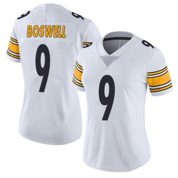 Women's Pittsburgh Steelers Chris Boswell White Limited Vapor Untouchable Jersey By Nike