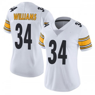 Women's Pittsburgh Steelers DeAngelo Williams White Limited Vapor Untouchable Jersey By Nike