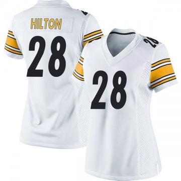 Women's Pittsburgh Steelers Mike Hilton White Game Jersey By Nike