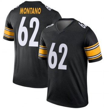 Youth Pittsburgh Steelers Christian Montano Black Legend Jersey By Nike