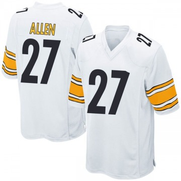 Youth Pittsburgh Steelers Marcus Allen White Game Jersey By Nike